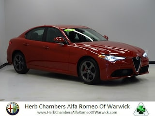 Pre-Owned 2017 Alfa Romeo Giulia AWD Sedan near Boston