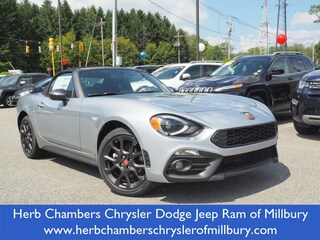 New 2019 FIAT 124 Spider ABARTH Convertible in Danvers near Boston