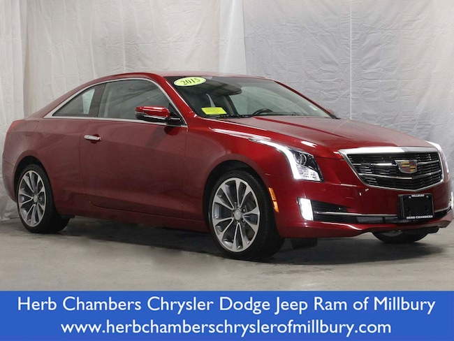 Used 2015 Cadillac ATS Premium AWD Car in Millbury near Worcester