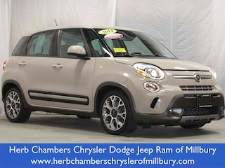 Pre-Owned 2014 FIAT 500L Trekking Car ML110095A near Boston