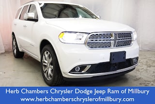 New 2018 Dodge Durango CITADEL ANODIZED PLATINUM AWD Sport Utility in Danvers near Boston, MA