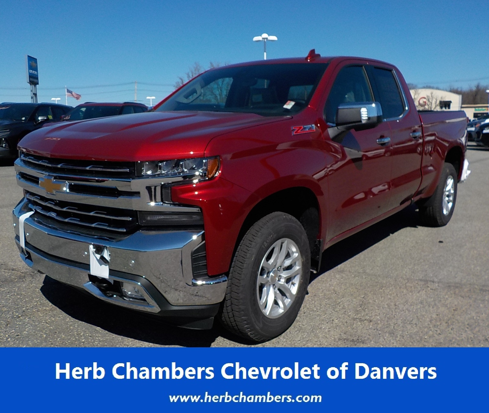 Herb Chambers Chevrolet >> New 2019 Chevrolet Silverado 1500 For Sale At Herb Chambers