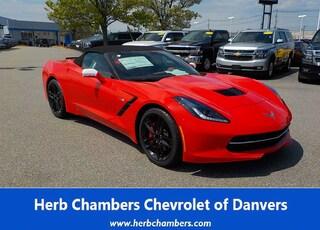 New 2019 Chevrolet Corvette Stingray Convertible for sale near you in Danvers, MA