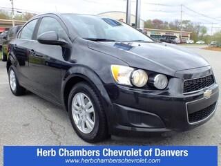 Pre-Owned 2013 Chevrolet Sonic LT Sedan near Boston