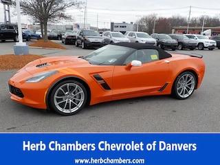 New 2019 Chevrolet Corvette Grand Sport Convertible for sale near you in Danvers, MA