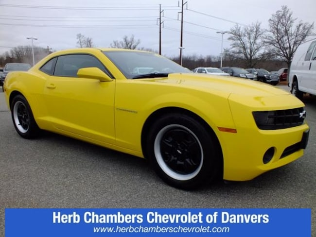 Herb Chambers Chevrolet >> Pre Owned 2013 Chevrolet Camaro Ls At Herb Chambers Bmw Of Boston