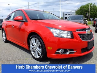 Certified Pre-Owned 2014 Chevrolet Cruze LTZ Sedan CD2200 in the Boston area