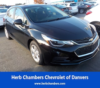 New Chevy cars, trucks, and SUVs 2018 Chevrolet Cruze LT Auto Hatchback for sale near you in Danvers, MA