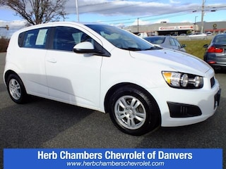 Certified Pre-Owned Chevy cars, trucks, and SUVs 2016 Chevrolet Sonic LT Hatchback CD1812 for sale near you in Danvers, MA