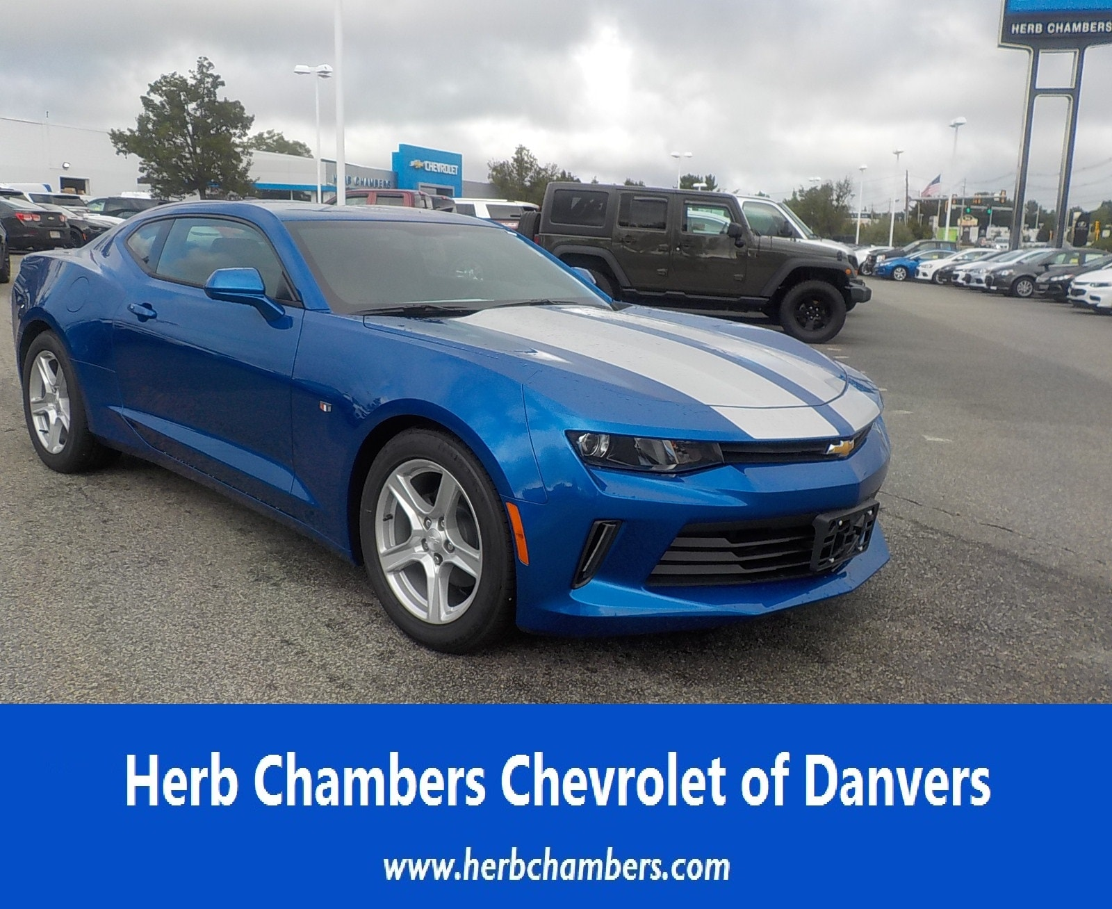 Herb Chambers Chevrolet >> New 2018 Chevrolet Camaro Coupe In Danvers Ma Near Boston