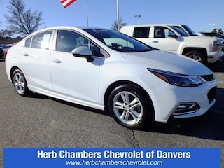 Certified Pre-Owned Chevy cars, trucks, and SUVs 2017 Chevrolet Cruze LT Sedan CD1840 for sale near you in Danvers, MA