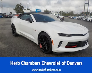 New Chevy cars, trucks, and SUVs 2018 Chevrolet Camaro 1LT Convertible for sale near you in Danvers, MA