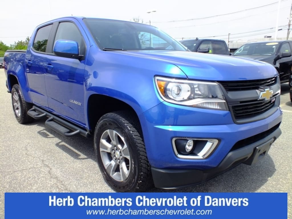Herb Chambers Chevrolet >> Used 2018 Chevrolet Colorado For Sale At Herb Chambers Volvo Cars Norwood Vin 1gcgtden9j1195710