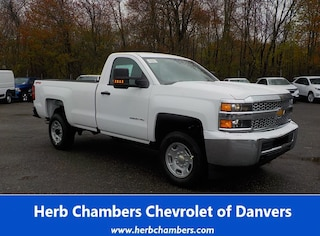 New 2019 Chevrolet Silverado 2500HD WT Truck Regular Cab for sale near you in Danvers, MA