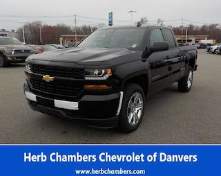 New 2019 Chevrolet Silverado 1500 LD Silverado Custom Truck Double Cab for sale near you in Danvers, MA