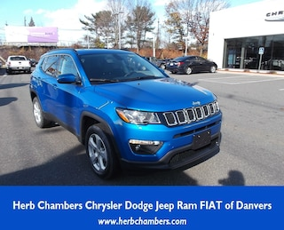 New 2019 Jeep Compass LATITUDE 4X4 Sport Utility in Danvers near Boston, MA