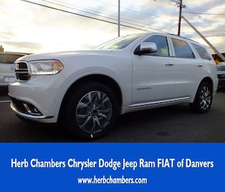 New 2018 Dodge Durango CITADEL ANODIZED PLATINUM AWD Sport Utility in Danvers near Boston