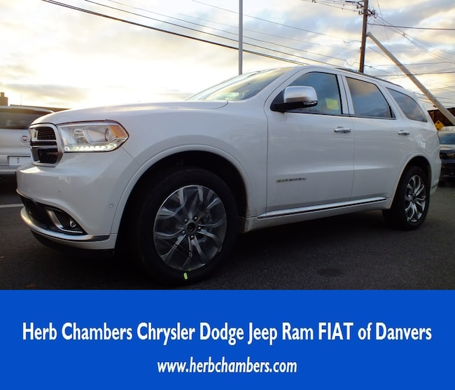 2018 Dodge Durango Interior: New 2018 Dodge Durango CITADEL ANODIZED PLATINUM AWD For