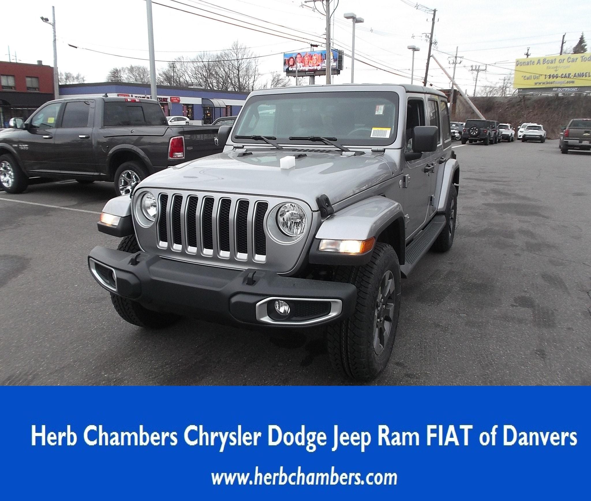Jeep Wrangler in Danvers MA