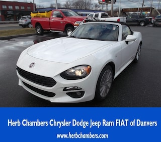 New 2018 FIAT 124 Spider LUSSO Convertible in Danvers near Boston