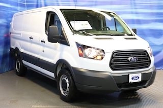 New Ford cars, trucks, and SUVs 2018 Ford Transit-250 Base w/60/40 Pass-Side Cargo Doors Van for sale near you in Braintree, MA