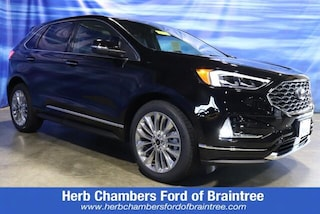 New Ford cars, trucks, and SUVs 2021 Ford Edge Titanium SUV for sale near you in Braintree, MA