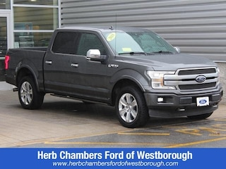 Certified pre owned Ford vehicles 2018 Ford F-150 Platinum Truck SuperCrew Cab for sale near you in Westborough, MA