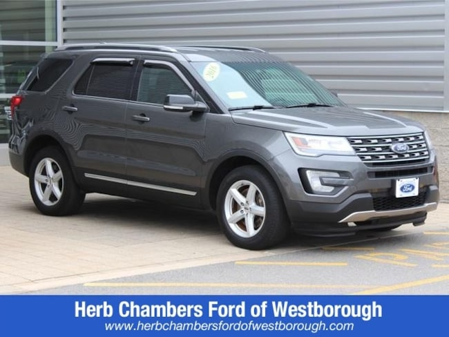 Used 2016 Ford Explorer XLT SUV for sale near Westborough MA