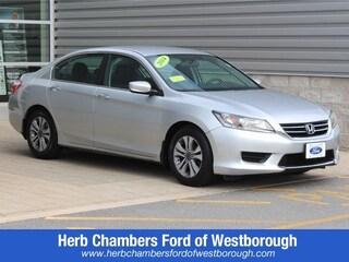 Used cars, trucks, and SUVs 2014 Honda Accord LX Sedan for sale near you in Westborough, MA