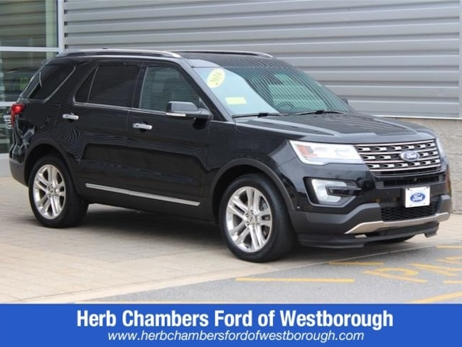 Used 2016 Ford Explorer Limited SUV for sale near Westborough MA