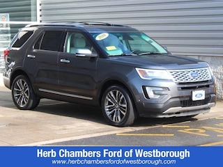 Certified Pre-Owned Ford 2016 Ford Explorer Platinum SUV for sale in Boston, MA
