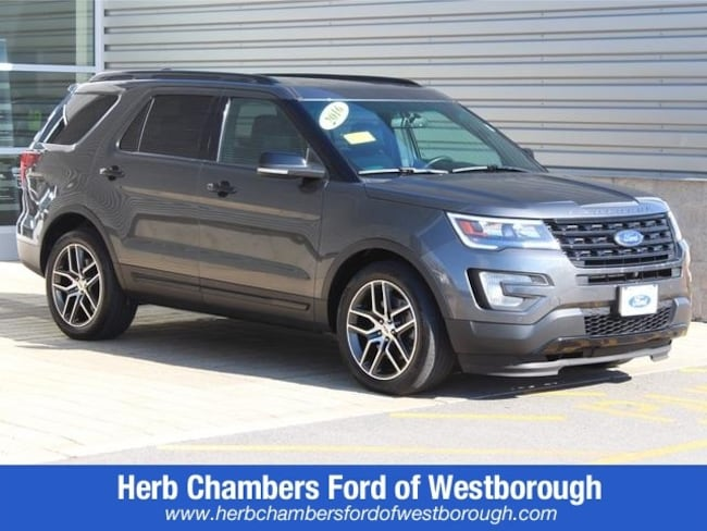 Used 2016 Ford Explorer Sport SUV for sale near Westborough MA