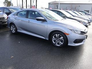 Certified Pre-Owned Honda vehicles 2016 Honda Civic LX Sedan BH21985 for sale near you in Boston, MA