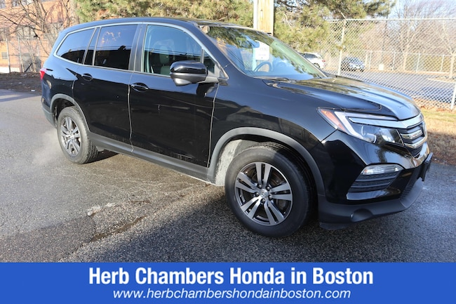 Certified Pre-Owned Honda vehicle 2016 Honda Pilot EX-L SUV for sale near you in Boston, MA