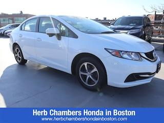 Certified Pre-Owned Honda vehicles 2015 Honda Civic SE Sedan BH21969 for sale near you in Boston, MA
