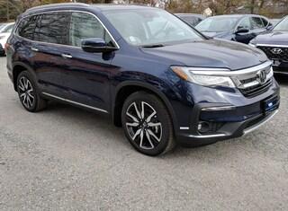 New Honda vehicles 2019 Honda Pilot Touring 8-Passenger AWD SUV for sale near you in Boston, MA