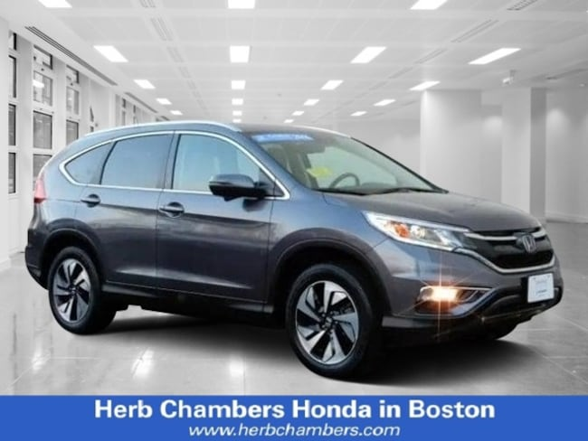 Certified Pre-Owned Honda vehicle 2016 Honda CR-V Touring SUV for sale near you in Boston, MA