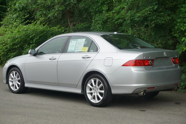 Used 2007 Acura TSX For Sale at Mercedes-Benz of Boston