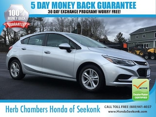 Used 2018 Chevrolet Cruze LT Hatchback O68430 for sale near you in Seekonk, MA