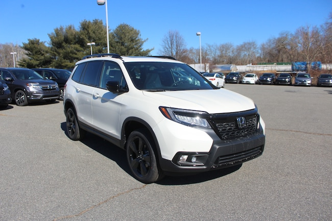 New 2019 Honda Passport Elite AWD SUV in Seekonk, MA