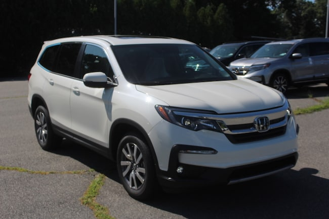 New 2019 Honda Pilot EX-L AWD SUV in Seekonk, MA