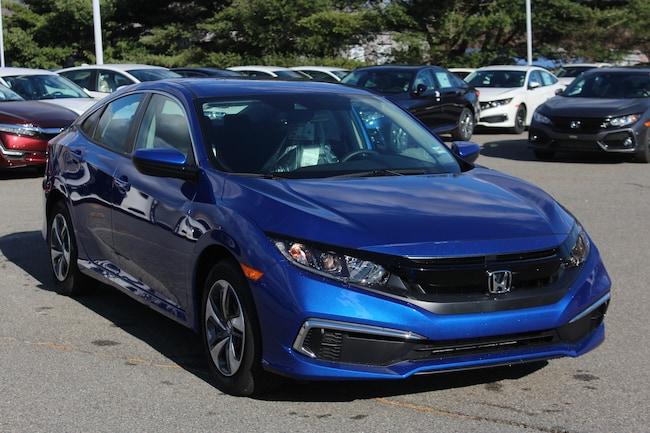 New 2019 Honda Civic LX Sedan in Seekonk, MA