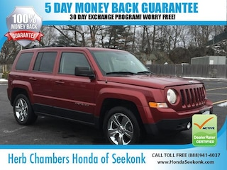 Pre-Owned 2014 Jeep Patriot Latitude SUV O67660A near Boston