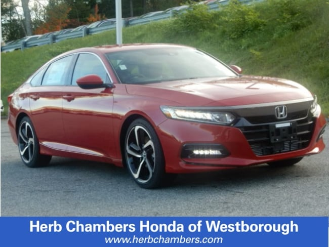 New 2019 Honda Accord Sport Sedan in Westborough, MA