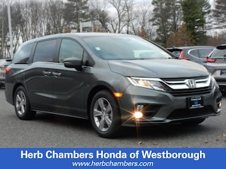 New 2019 Honda Odyssey EX-L w/Navigation & RES Van in Westborough, MA