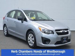 Used 2013 Subaru Impreza 2.0i Hatchback HW90418A for sale near you in Westborough, MA