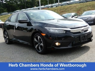 New 2018 Honda Civic Touring Sedan for sale near you in Westborough, MA