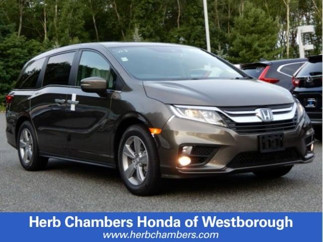 New 2019 Honda Odyssey EX-L Van in Westborough, MA