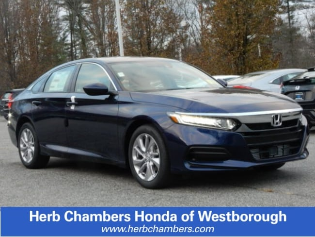 New 2019 Honda Accord LX Sedan in Westborough, MA