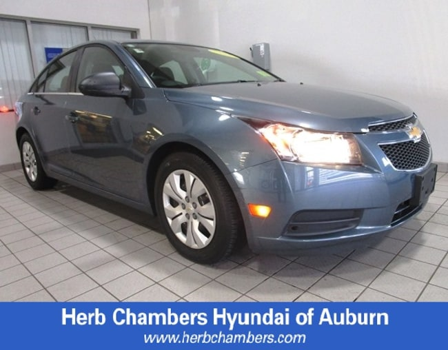 Used wheelchair accessible vehicle 2012 Chevrolet Cruze LS Sedan for sale in Burlington, MA